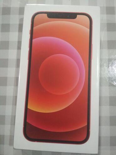 Мобильные телефоны - Бишкек: Новый iPhone 12 64 ГБ Красный