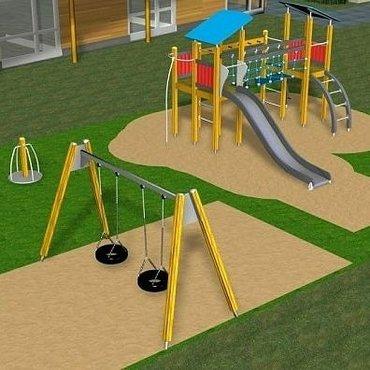 детские-игровые-площадки-для-двора в Кыргызстан: Детские площадки на любой вкус по доступным ценам. Качели, карусели, и