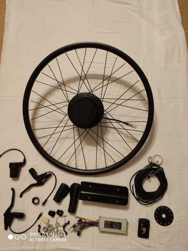 Спорт и хобби - Кемин: Мотор колесо редукторное. 36 волт, 500 ватт. Есть всё в наборе, кроме