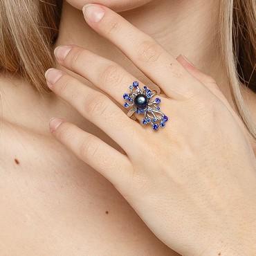 маршрутизаторы nat в Кыргызстан: Продаю новое итальянское кольцо (размер 17,5) с жемчугом из коллекции