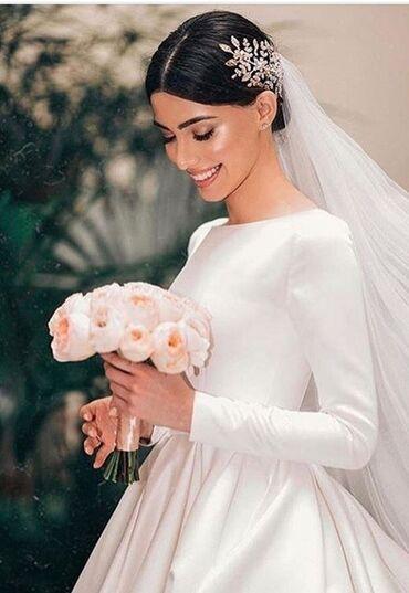 Продаю шикарное платье покупала за 15000 тысяч фата шлейф для фо