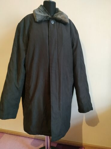 Мужская куртка. В отличном состоянии, внутри мех и воротник снимается