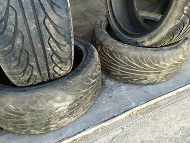 летние шины 21560 r16 в Кыргызстан: Продаю комплект летней резины 205/45/16Состояние хорошее, на пару