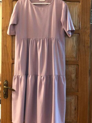 Нежно розовое платье 48го размера (советский). Цена 400 сом