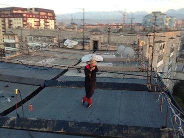 Настил мягкой кровли,технониколь, ,сварачные работы!!! в Бишкек