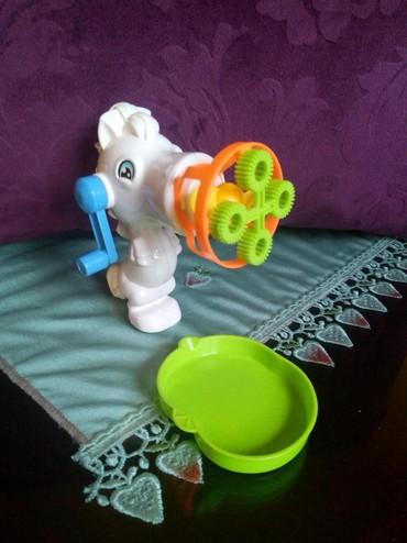 Za decu | Kraljevo: Pistolj za decu za pravljenje baloncica nov vis. 13cm