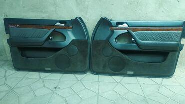 Дверные обшивки (карты) на w 140.Рестайлинг, без airbag. Состояние