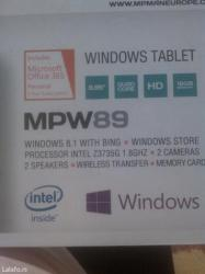 Prodajem windows mp man tablet mpw89 instaliran windows 8 16gb memory. - Arandjelovac