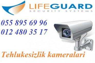 Bakı şəhərində HD cekilisli video kamera sistemi