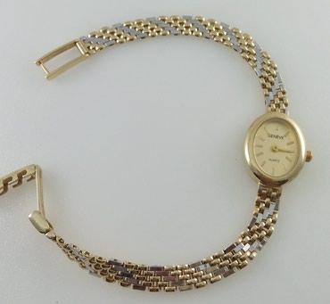 часы карманные в Кыргызстан: Часы из желтого и белого золота 585 проба. Длина 20 см. Цена 71000 Сом