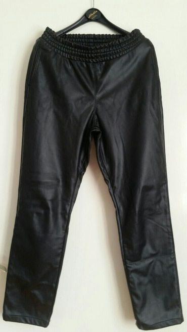 Ženske eko koža pantalone franco ferucci, velicina M.Slabo su - Pirot