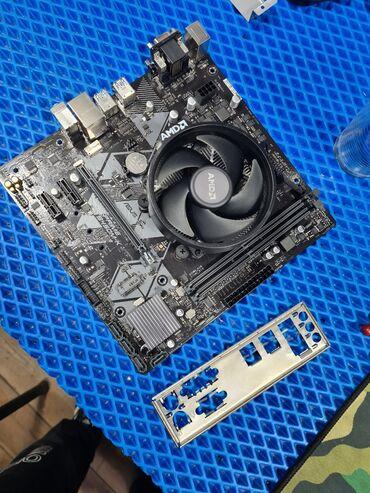 серверы amd epyc в Кыргызстан: Продаю комплект материнская плата и процессор Ryzen 5 2400g Asus