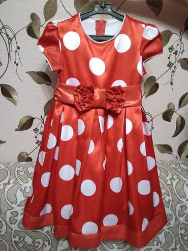 Нарядное платье, на 5 лет. отл. сост. в Бишкек
