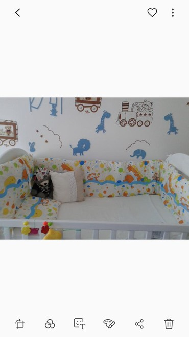 Duzina sirina - Srbija: Ogradica za krevetac,jako malo koristena jer beba nije ni spavala u kr