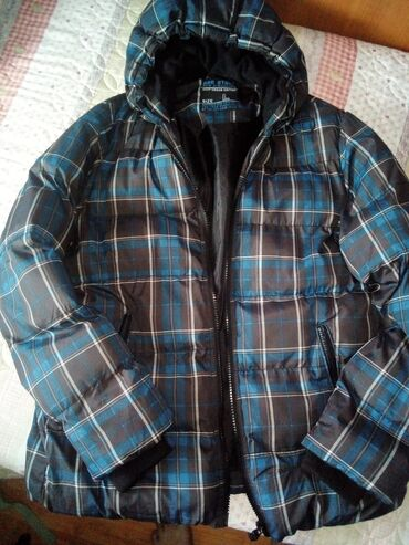 Muske jakne zimske - Srbija: Muska zimska jakna, vel. L, par puta obučena