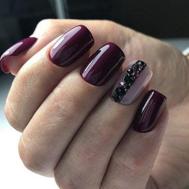маникюр покрытие гель лаком наращивание ногтей в Бишкек