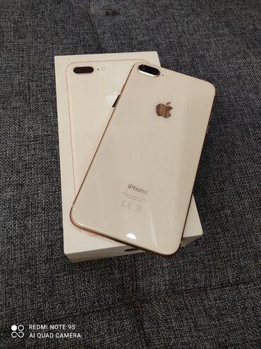 купить телефоны oppo в бишкеке в Кыргызстан: Б/У iPhone 8 Plus 64 ГБ Золотой