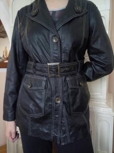 Ženska kožna jakna br.42, kupljena u Nemačkoj, nova, sa etiketom. - Sabac