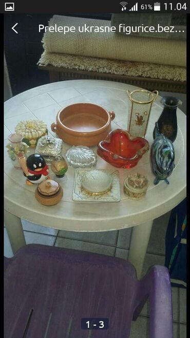 Kućni dekor - Bogatic: Prelepe ukrasne figurice.casice i vaznice
