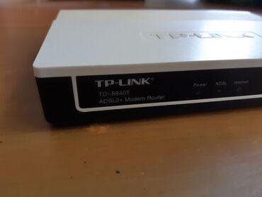 ford sierra td в Кыргызстан: ADSL2+модем Роутер TP-Link TD-8840T