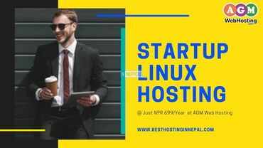 The best Linux hosting startup at Just NPR.699/year AGM Web Hosting