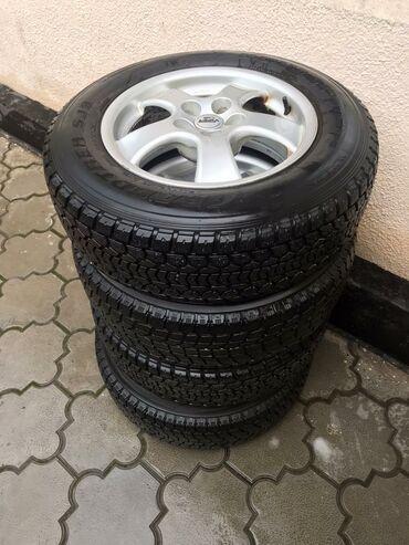 tufli made in italy в Кыргызстан: Продаю диски с отличной резиной Made in Germany ( шины YOKOHAMA