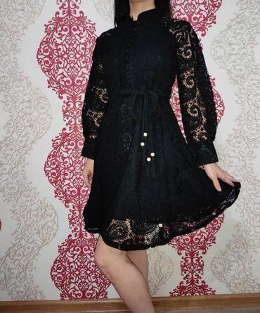 платье для кормящих в Кыргызстан: Почти новое платье одевала один раз. Размер стандарт.44-50 подходит и