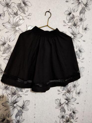 Продаю юбку 200 с  Цвет : черный Размер : 44-46  Качество : отличное