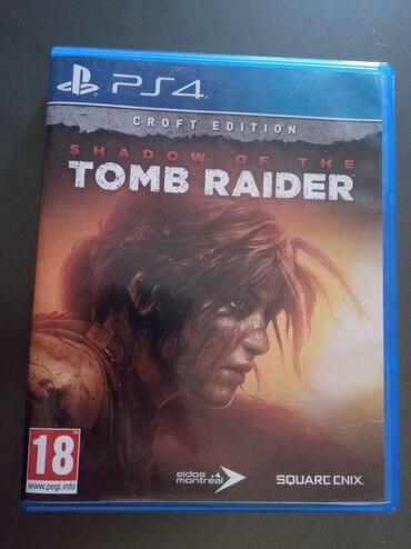 Video oyunlar və konsollar - Azərbaycan: Shadow of the Tomb Raider PS4 oyunu