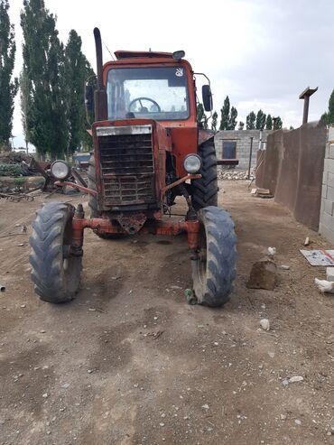 Транспорт - Каныш-Кия: Мтз80 камбаин фургон соко Талас Кара буура