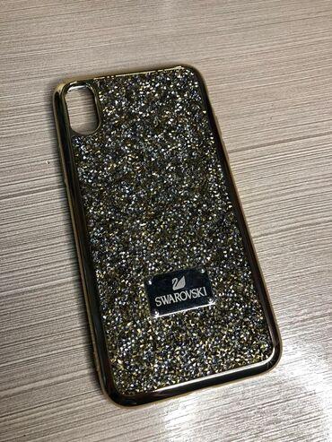 Чехол для iPhoneXs/XНовый качественныйЦвет: золотистый
