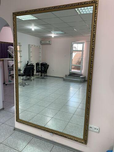 Декор для дома - Бишкек: Продаётся большое зеркало   Высота 190смширина 130см