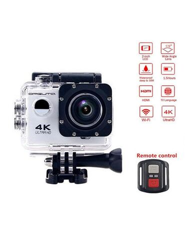 Видеокамеры qihan - Кыргызстан: Аренда - прокат экшен-камеры Сдаю в прокат камеру В комплект входит
