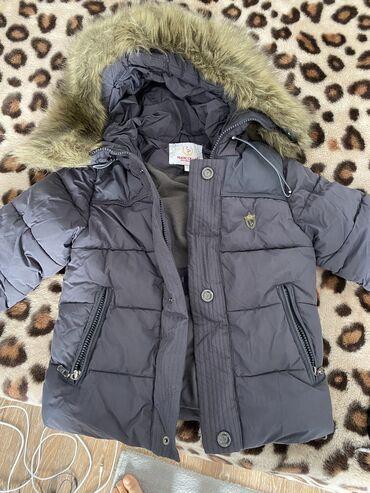 мужские куртки зимние бишкек в Кыргызстан: Зимняя куртка в отличном состоянии 110р