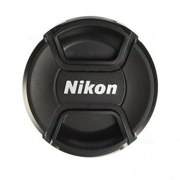 Bakı şəhərində Nikon linza qapağı