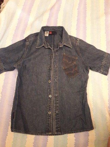 джинсовая жилетка женская в Кыргызстан: Рубашка джинсовая
