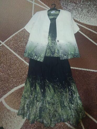 Детский мир - Манас: Женский турецкий костюм. Тройка(топик,пиджак,юбка на резинке). Размер