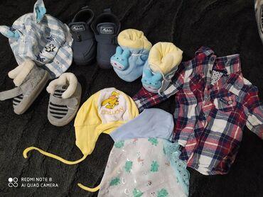 Детская одежда и обувь - Кок-Ой: Продам пакет вещей на мальчика от 0 до 12 месяцев, смотря какой
