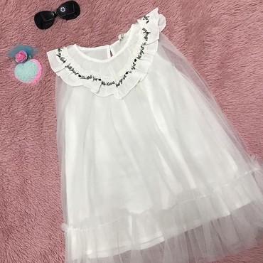 Белое,нежное,детское платье