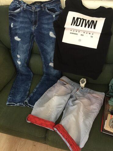 Muška odeća | Razanj: Na prodaju sve sa slike, farmerice bukvalno nove i prelepe, duks fsbn