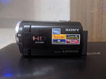 Фото видеокамера - Кыргызстан: Продам видеокамеру SONY HDR XR 160E, 160 GB встроенной памяти, коробка