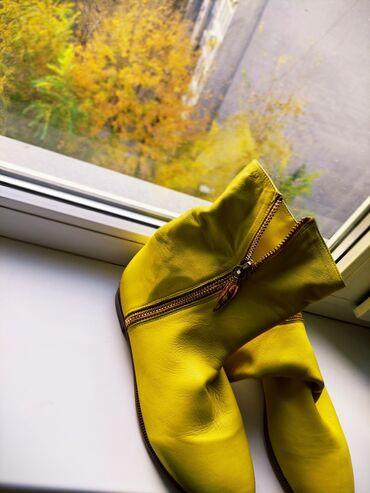 """_""""Осенние ботиночки""""_Натуральная кожа, в определенной степени гибкая"""