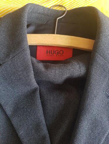 Baggy siva rolka kaschmir vuna - Srbija: Hugo Boss odelo,novocista vuna