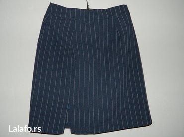 Teget suknja na pruge, - Sabac