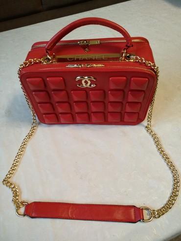 Chanel , кожаная сумка .  обмен не интересует в Бишкек