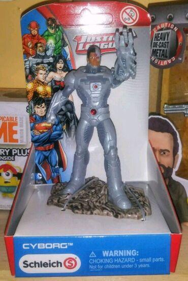 Figura - Srbija: Schleich Figura Justice League DC Comics : Cyborg  Novo i neo