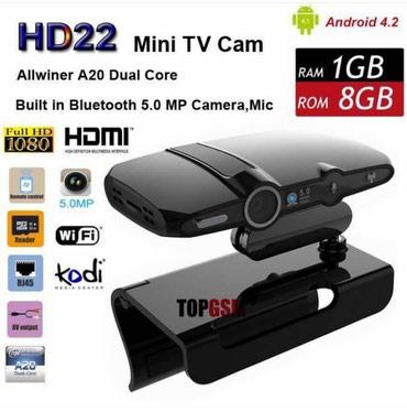 Tvni smart android sistem eden qurgu smart box HD22 model. Kamerali. 1 - Bakı