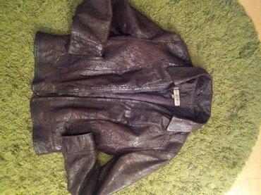 Kozna jakna poznatog italijanskog brenda koji je poznat po kvalitetnim - Beograd