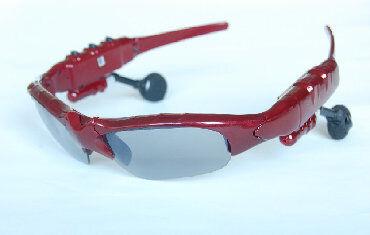 Очки - наушники с плеером Sunglasses LK-086 Black - раскладная