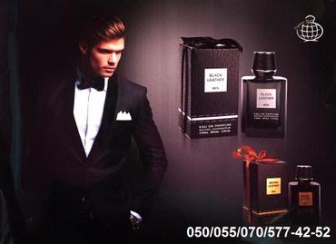 Bakı şəhərində Black leather men's edp perfume kişi ətri 100ml-27azn. Qutularin
